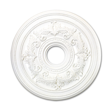 Livex Lighting 8200-03 - White Ceiling Medallion