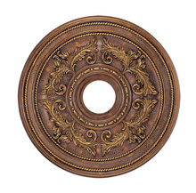 Livex Lighting 8200-30 - Crackled Greek Bronze Ceiling Medallion