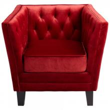 Cyan Designs 06324 - Red Prince Valiant Chair