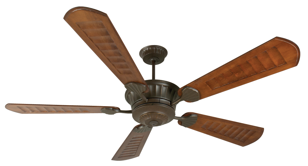 "DC Epic 70"" Ceiling Fan Kit in Aged Bronze Textured"