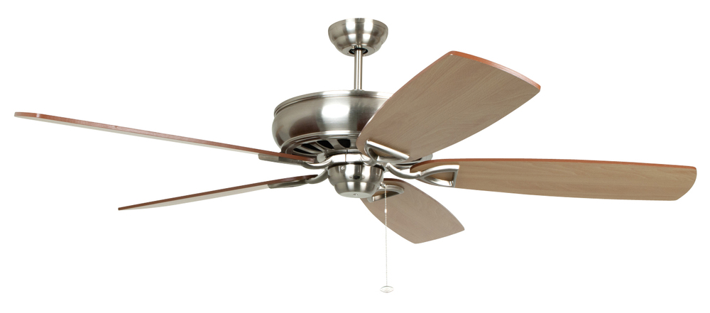 "Supreme Air 62"" 62"" Ceiling Fan Kit in Brushed Polished Nickel"