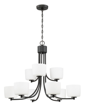 Craftmade 43529-ABZ - Clarendon 9 Light Chandelier in Aged Bronze Brushed