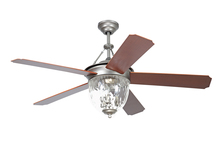 "Craftmade CAV52PT5LK - Cavalier 52"" Ceiling Fan with Blades and Light in Pewter"