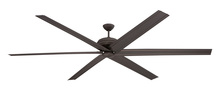 "Craftmade COL72ESP6 - Colossus 72"" Ceiling Fan with Blades in Espresso"