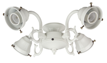Craftmade F440CFL-BN - 4 Light Universal Fitter in Brushed Satin Nickel