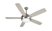 "Craftmade HE52SS5 - Helios 52"" Ceiling Fan with Blades and Light in Stainless Steel"