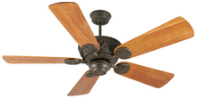 "Craftmade K10078 - Chaparral 52"" Ceiling Fan Kit in Aged Bronze Textured"