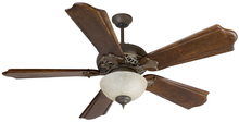 "Craftmade K10323 - Mia 52"" Ceiling Fan Kit with Light Kit in Aged Bronze/Vintage Madera"