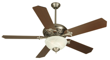 "Craftmade K10326 - Mia 52"" Ceiling Fan Kit with Light Kit in Pewter"