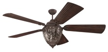 "Craftmade K10337 - Olivier 70"" Ceiling Fan Kit with Light Kit in Aged Bronze Textured"