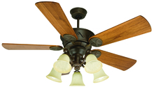 "Craftmade K10409 - Chaparral 52"" Ceiling Fan Kit with Light Kit in Aged Bronze Textured"
