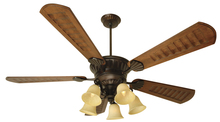 "Craftmade K10685 - DC Epic 70"" Ceiling Fan Kit with Light Kit in Oiled Bronze"