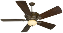"Craftmade K10744 - Pavilion 52"" Ceiling Fan Kit in Aged Bronze Textured"