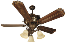 "Craftmade K10767 - Toscana 52"" Ceiling Fan Kit with Light Kit in Peruvian Bronze"