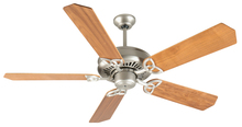 "Craftmade K10824 - American Tradition 52"" Ceiling Fan Kit in Brushed Satin Nickel"