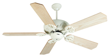 "Craftmade K10908 - Cordova 52"" Ceiling Fan Kit in Antique White"