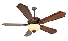 "Craftmade K11011 - Mia 52"" Ceiling Fan Kit with Light Kit in Oiled Bronze Gilded"
