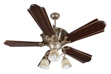 "Craftmade K11013 - Toscana 52"" Ceiling Fan Kit with Light Kit in Athenian Obol"