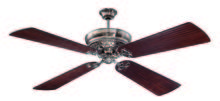 "Craftmade K11059 - Monroe 52"" Ceiling Fan Kit in Tarnished Silver"