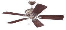 "Craftmade K11232 - Monaghan 52"" Ceiling Fan Kit in Tarnished Silver"