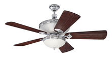 "Craftmade K11253 - Saratoga 52"" Ceiling Fan Kit in Chrome"