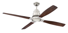 "Craftmade K11283 - Ricasso 60"" Ceiling Fan Kit in Brushed Polished Nickel"