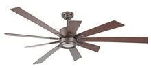 "Craftmade KAT72ESP9 - Katana 72"" Ceiling Fan with Blades and LED Light Kit in Espresso"
