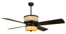 "Craftmade MO56OB4 - Midoro 56"" Ceiling Fan with Blades and Light in Oiled Bronze"