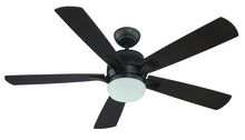 "Craftmade PU52OB5 - Pulsar 52"" Ceiling Fan with Blades and Light in Oiled Bronze"