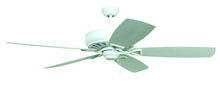 "Craftmade SUA62WW5 - Supreme Air 62"" Ceiling Fan with Blades in White"