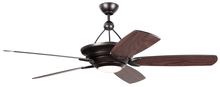 "Craftmade VS60OB5 - Vesta 60"" Ceiling Fan with Blades and Light in Oiled Bronze"
