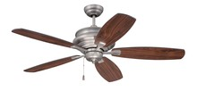 "Craftmade YOR52PT5 - Yorktown 52"" Ceiling Fan with Blades in Pewter"