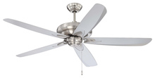 "Craftmade ZE56SS5 - Zena 56"" Ceiling Fan with Blades in Stainless Steel"