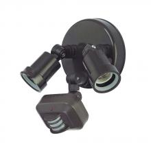 Acclaim Lighting MFL2ABZ - Motion Activated Floodlights Collection 2-Light Outdoor Architectural Bronze Light Fixture