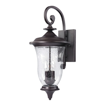 Thomas 8003EW/75 - Trinity 3 Light Outdoor Wall Sconce In Oil Rubbe