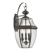 Thomas 8603EW/75 - Ashford 3 Light Outdoor Wall Sconce In Oil Rubbe
