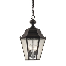 Thomas 8903EH/75 - Cotswold 4 Light Outdoor Pendant In Oil Rubbed B