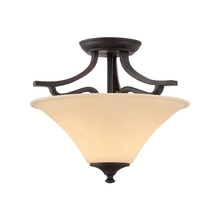 Thomas TC0020704 - TREME ceiling lamp Espresso 2x60W 120V