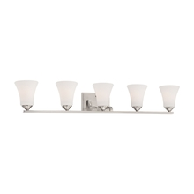 Thomas TV0022217 - Treme wall lamp Brushed Nickel 5x100W