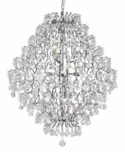 Trans Globe HH-9 PC - 9LT CHANDELIER-CRYSTAL EMPIRE