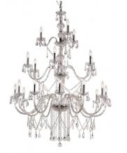 "Trans Globe HU-21 PC - Zircon 42"" Chandelier"
