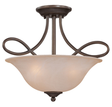 Jeremiah 25033-OB - Cordova 3 Light Convertible Semi Flush/Pendant in Old Bronze