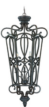 Jeremiah 25236-MB - Highland Place 6 Light Cage Foyer in Mocha Bronze