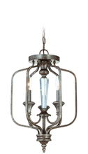 Jeremiah 26723-MB - Boulevard 3 Light Convertible Semi Flush/Pendant in Mocha Bronze/Silver Accents