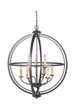 Jeremiah 40139-ESP - Berkeley 9 Light Foyer in Espresso