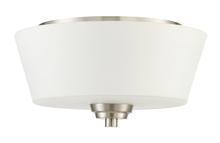 Jeremiah 41982-BNK - Grace 2 Light Flushmount in Brushed Polished Nickel