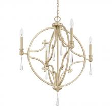 Capital 321243WG-CR - 4 Light Pendant