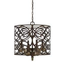 Capital 321541RN - 4 Light Pendant