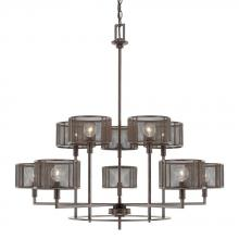 Capital 411101RS-653 - 10 Light Chandelier