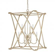 Capital 9693WG - 8 Light Foyer Fixture